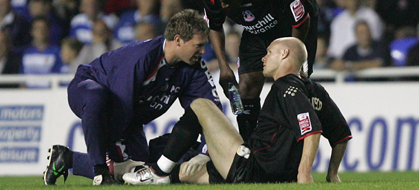 physio foot injury